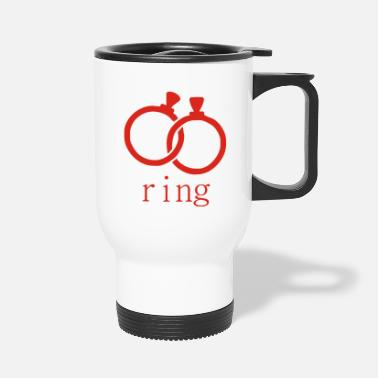 Ring engagement ring - Travel Mug