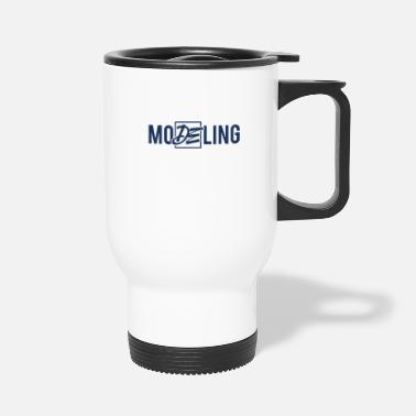 Model Modeling Fashion Top Model Model Catwalk Modeling - Travel Mug