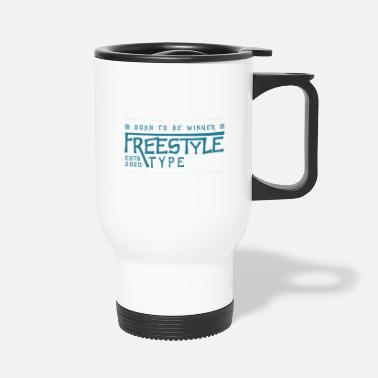 Freestyle Party Freestyle just for fun - Travel Mug