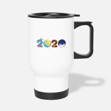 New Year New Year 2020 - Happy new year 2020 - new year - Travel Mug