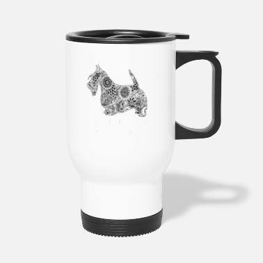 Skirt beard and a skirt - Travel Mug