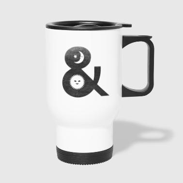 night and day - Travel Mug