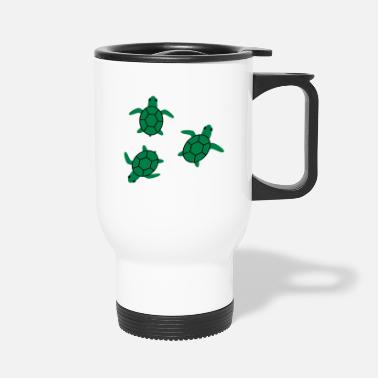 Sea sea turtle - Travel Mug