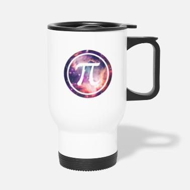 Pi PI - Universum / Space / Galaxy Nerd & Geek Style - Travel Mug