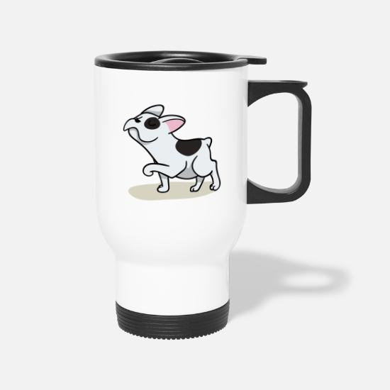 Dog Mugs & Drinkware - Dog Dog Dog - Travel Mug white