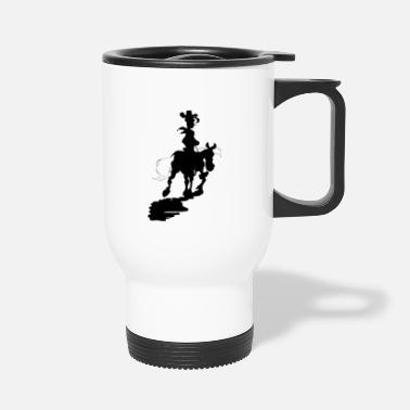 Luke Lucky Luke Silhouette - Travel Mug