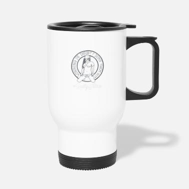 Sidereal Rally Titties White - Travel Mug