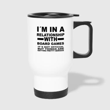 Board Game relationship with BOARD GAMES - Travel Mug