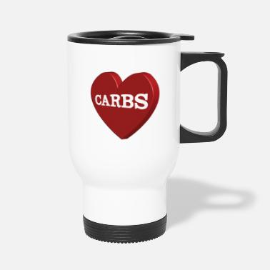 Carbs Carbs - Travel Mug