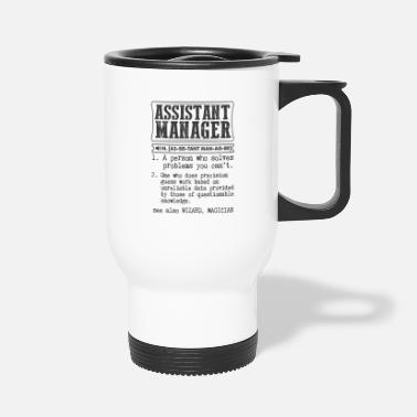 Property Assistant Manager Definition Gift Mug - Travel Mug