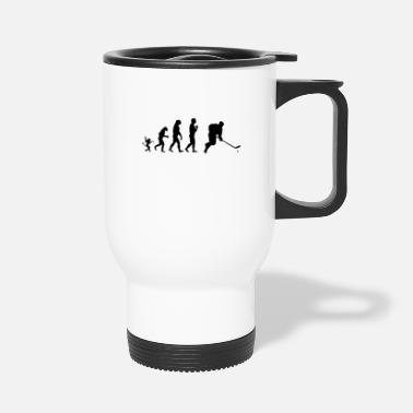 Evolution Ice hockey evolution, #Ice hockey - Travel Mug