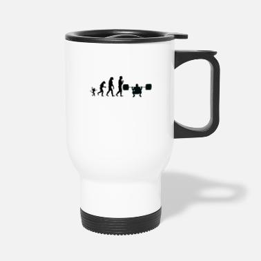 Weights weight lifting evolution, #weight lifting - Travel Mug