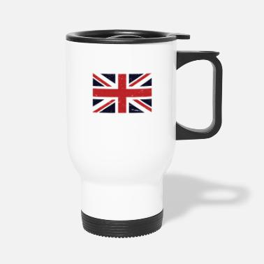 Union Jack Made In England Great Britain National Union Jack - Travel Mug