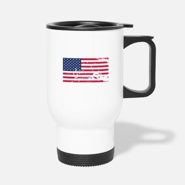 Flag Flag Flag Flag - Travel Mug