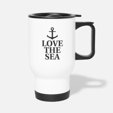 Baltic Sea Love the Sea - Travel Mug