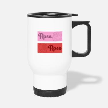 Rose Roses flower Rose - Travel Mug