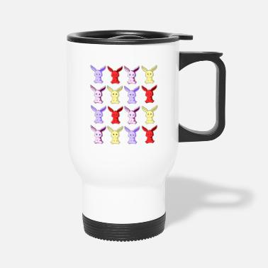 Miniature Bunny Colour - Travel Mug