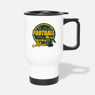 Rugby American Football Player Footballer Team Gift - Travel Mug