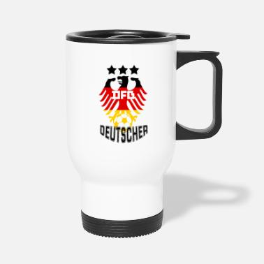 German-eagle (German eagle) - Travel Mug