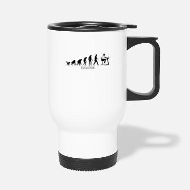 Computer Evolution - Computer Engineer - D3 Designs - Travel Mug