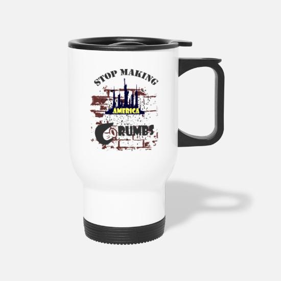 Usa Mugs & Drinkware - Election President 2020 - Travel Mug white