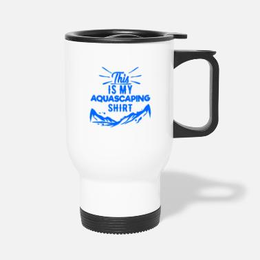 Aquarium Aquascaping I Aquarium Fish Tank Cleaning Fish - Travel Mug