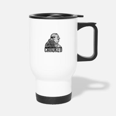 Crook Crooked - Travel Mug