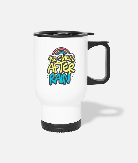 Rain Mugs & Drinkware - Rain - Travel Mug white