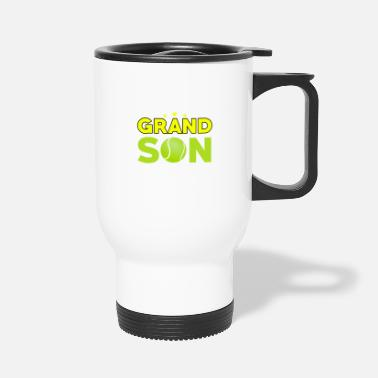 Yell Tennis - That's My Grandson Out There - Travel Mug