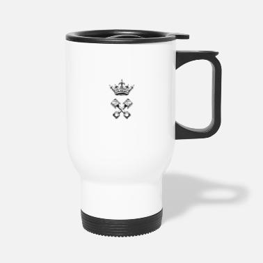 Tuning Car engine displacement gift idea Bologna - Travel Mug