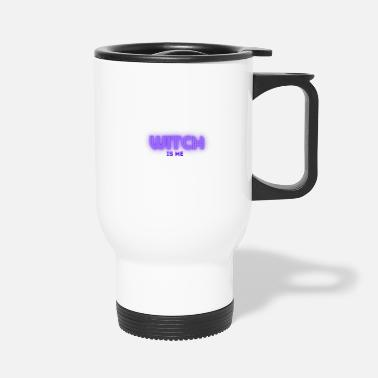 Spiders Witch is me shirt for Halloween - Travel Mug