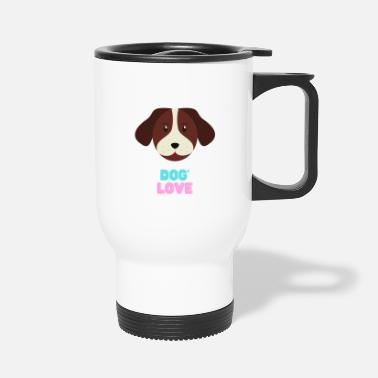 New Age Love dogs my family - Travel Mug