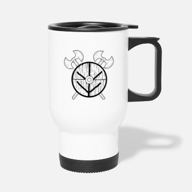 Shield Maid Shield Maid Norse Mythology Viking - Travel Mug