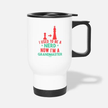 Enemy I Used To Be A Nerd Now I'm A Grand Master - Travel Mug