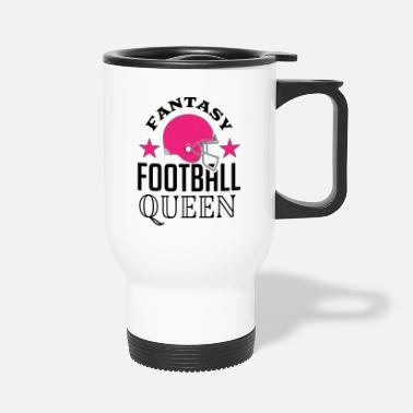 Football Fantasy Football Queen Sports - Travel Mug
