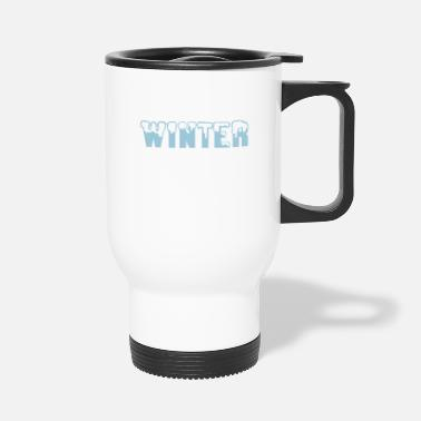 Winter winter - Travel Mug