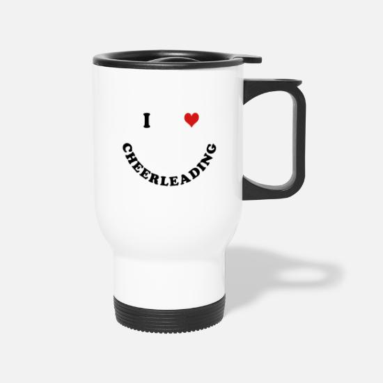 Cheerleader Mugs & Drinkware - Cheerleading - Travel Mug white
