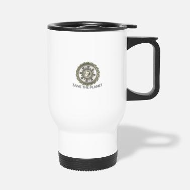 save the planet - Travel Mug