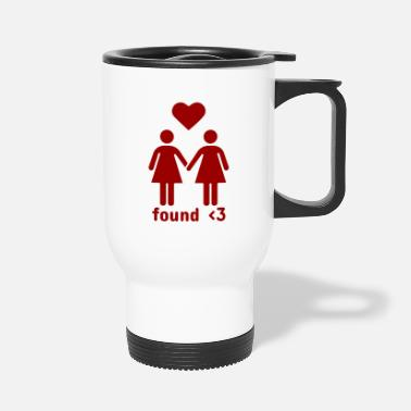Found Love | Female Relationship - Travel Mug