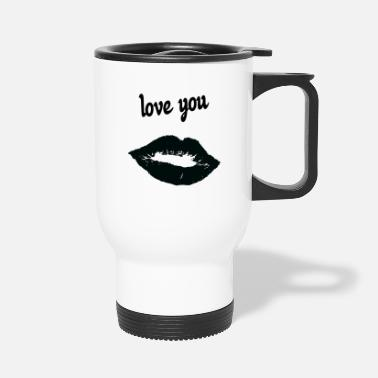 Affection Dedication affection love - Travel Mug