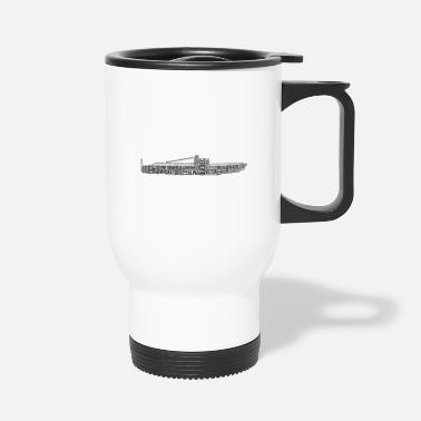 Nato NATO Phonetic Alphabet Submarine - Travel Mug