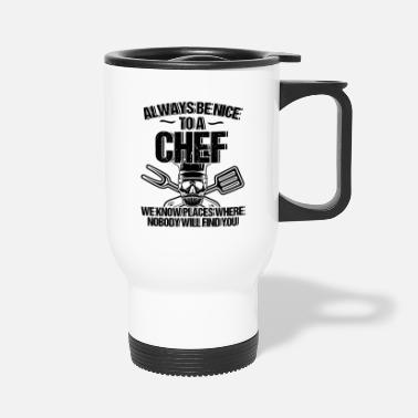 Meal Chef Cooking Kitchen Gift - Travel Mug
