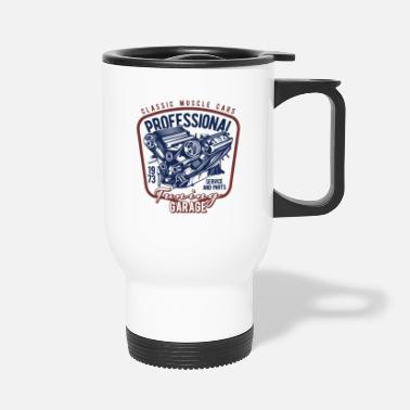 Muscle Car 14 muscle car professional - Travel Mug