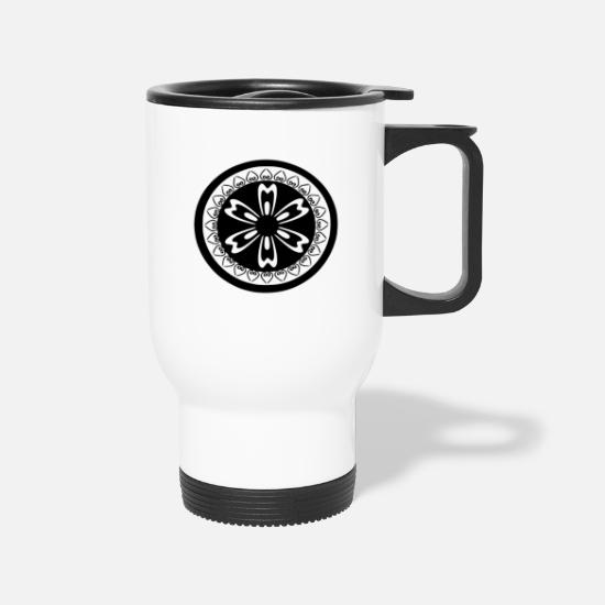 Pattern Mugs & Drinkware - pattern - Travel Mug white