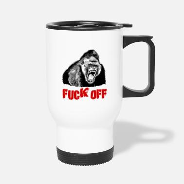 Fuck Off FUCK OFF - Travel Mug