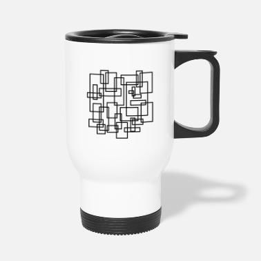Rectangle rectangled - Travel Mug