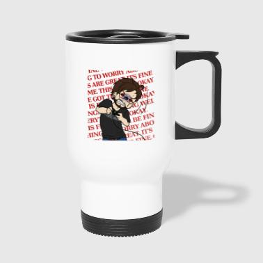 THIS IS FINE - Travel Mug