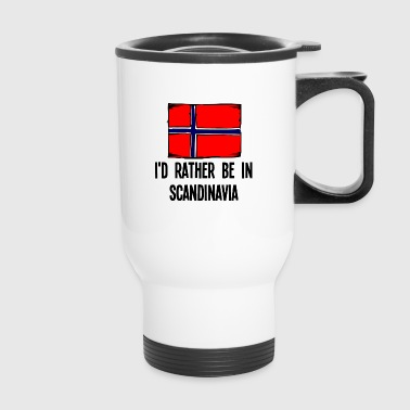 I'd Rather Be In Scandinavia - Travel Mug