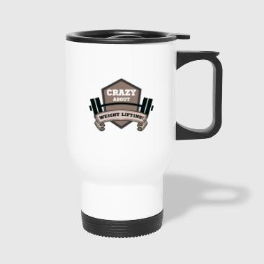 weight lifting - Travel Mug