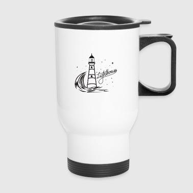 Lighthouse Coast North Sea Holiday Gift - Travel Mug